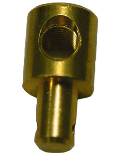 Brass 43C Cable Attaching Pivot, 1/4