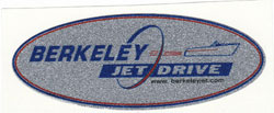 Berkeley Jet Sticker